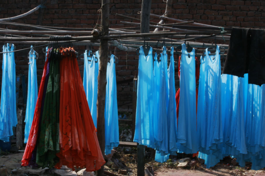 tie-dyed fabrics, Jaipur