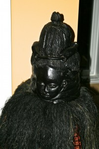 Sowei's helmet mask